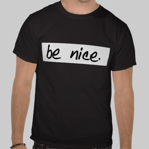 black t-shirts - girl's cut and men's